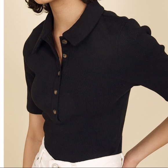 Essential Polo In Black